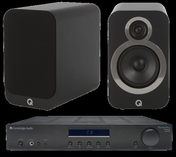 Pachete PROMO STEREO Pachet PROMO Q Acoustics 3020i + Cambridge Audio Topaz AM10Pachet PROMO Q Acoustics 3020i + Cambridge Audio Topaz AM10