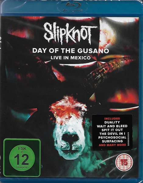 DVD & Bluray BLURAY Universal Records Slipknot - Day Of The Gusano (Live In Mexico)BLURAY Universal Records Slipknot - Day Of The Gusano (Live In Mexico)
