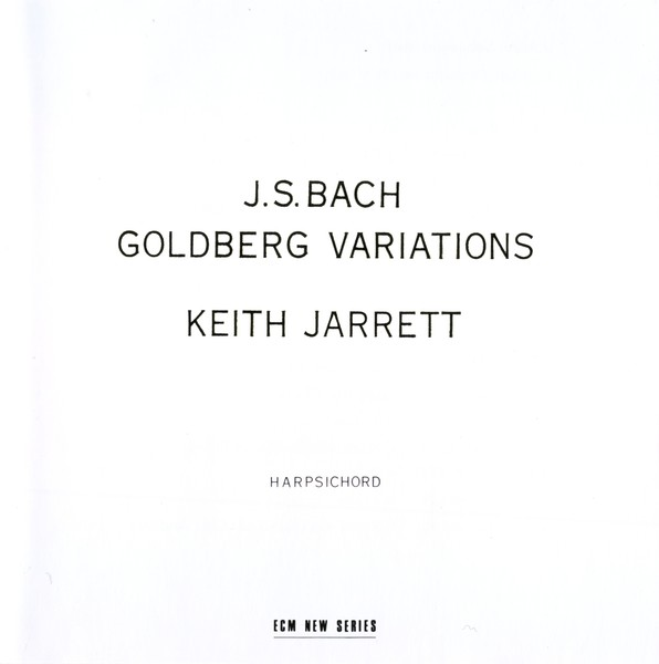 Muzica CD CD ECM Records Keith Jarrett - Bach: Goldberg VariationsCD ECM Records Keith Jarrett - Bach: Goldberg Variations
