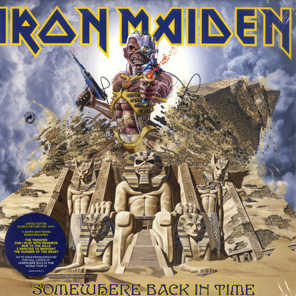 Viniluri VINIL Universal Records Iron Maiden - Somewhere Back In Time -The Best Of 1980-1989VINIL Universal Records Iron Maiden - Somewhere Back In Time -The Best Of 1980-1989