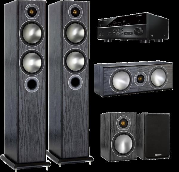 Pachete PROMO SURROUND Pachet PROMO Monitor Audio Bronze 5 pachet 5.0 + Yamaha RX-V685Pachet PROMO Monitor Audio Bronze 5 pachet 5.0 + Yamaha RX-V685