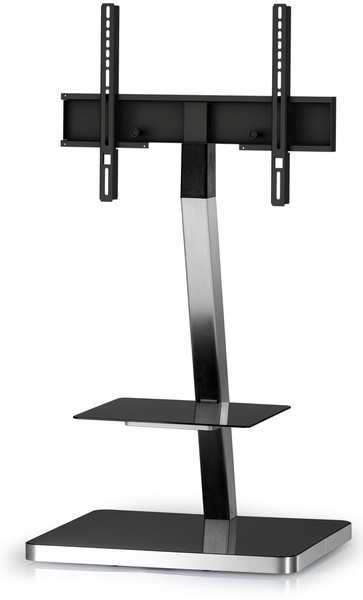 Standuri TV  Stand TV mobil pentru podea Sonorous - PL 2710-BLK-SLV Stand TV mobil pentru podea Sonorous - PL 2710-BLK-SLV
