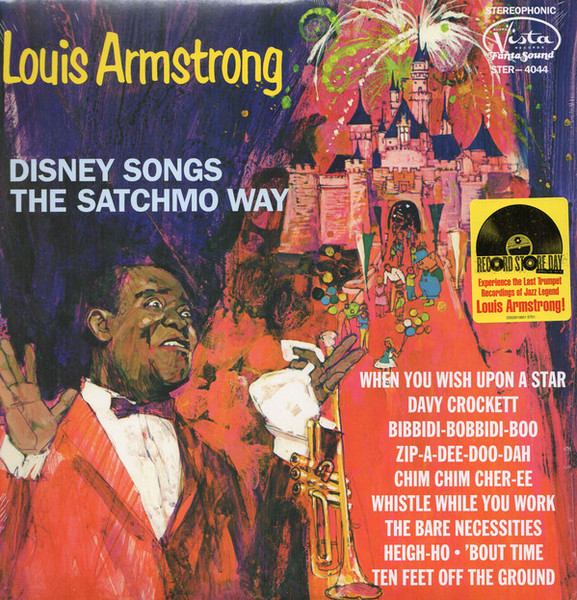 Viniluri VINIL Universal Records Louis Armstrong - Disney Songs the Satchmo WayVINIL Universal Records Louis Armstrong - Disney Songs the Satchmo Way