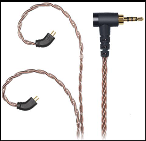 Accesorii CASTI Fiio LS-2.5A cablu balansat 0.78mm 2pinFiio LS-2.5A cablu balansat 0.78mm 2pin