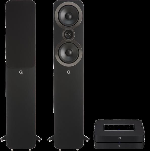 Pachete PROMO STEREO Pachet PROMO Q Acoustics 3050i + Bluesound PowernodePachet PROMO Q Acoustics 3050i + Bluesound Powernode