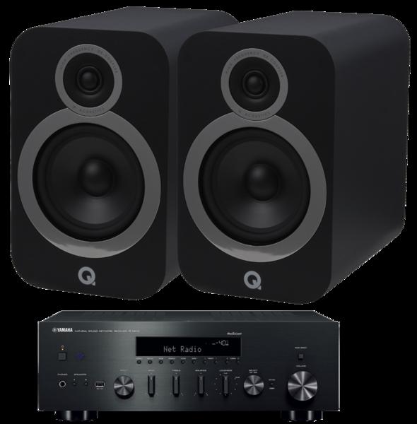 Pachete PROMO STEREO Pachet PROMO Q Acoustics 3030i + Yamaha R-N602Pachet PROMO Q Acoustics 3030i + Yamaha R-N602