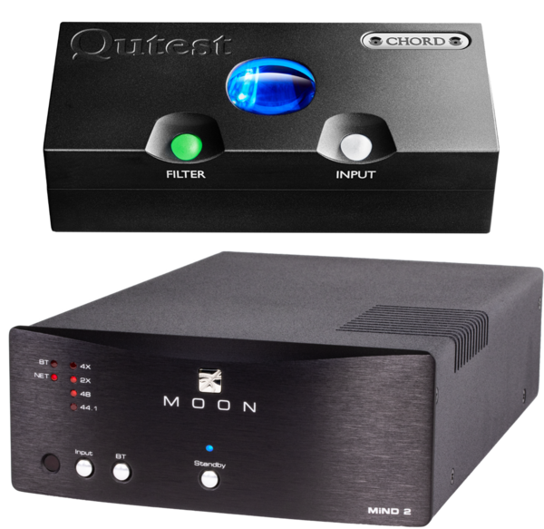 DAC-uri DAC Chord Electronics Qutest + MOON by Simaudio Mind 2DAC Chord Electronics Qutest + MOON by Simaudio Mind 2