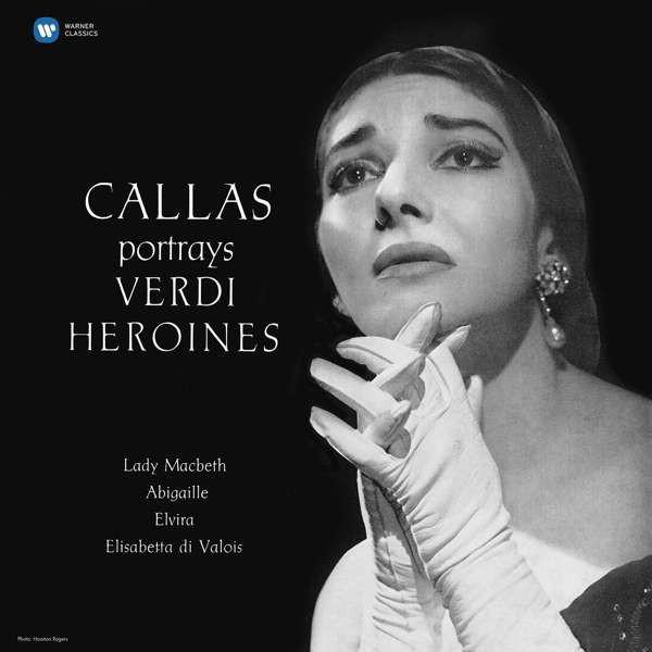 Viniluri VINIL WARNER BROTHERS Maria Callas - Callas Portrays Verdi HeroinesVINIL WARNER BROTHERS Maria Callas - Callas Portrays Verdi Heroines
