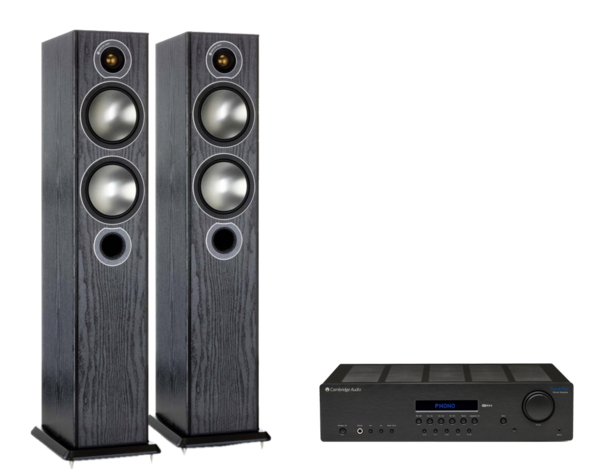 Pachete PROMO STEREO Pachet PROMO Monitor Audio Bronze 5 + Cambridge Audio Topaz SR20Pachet PROMO Monitor Audio Bronze 5 + Cambridge Audio Topaz SR20