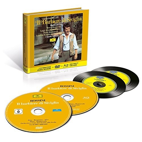 Muzica CD CD Deutsche Grammophon (DG) Rossini - Il Barbiere Di Siviglia ( Abbado, Prey, Berganza ) CD + BluRay AudioCD Deutsche Grammophon (DG) Rossini - Il Barbiere Di Siviglia ( Abbado, Prey, Berganza ) CD + BluRay Audio