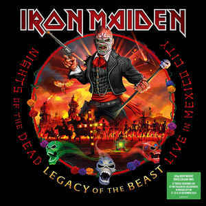 Viniluri VINIL Universal Records Iron Maiden - Nights Of The Dead, Legacy Of The Beast: Live In Mexico CityVINIL Universal Records Iron Maiden - Nights Of The Dead, Legacy Of The Beast: Live In Mexico City
