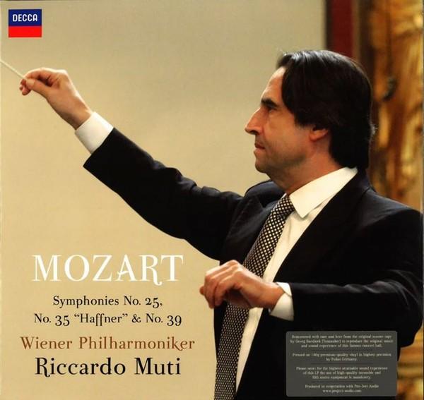 Muzica VINIL ProJect Vienna Philharmonics, Riccardo Muti : Mozart - Symphonies 25, 35 & 39VINIL ProJect Vienna Philharmonics, Riccardo Muti : Mozart - Symphonies 25, 35 & 39