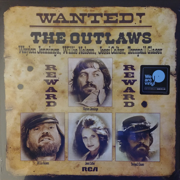 Viniluri VINIL Universal Records  Waylon Jennings, Willie Nelson, Jessi Colter, Tompall Glaser - Wanted! The OutlawsVINIL Universal Records  Waylon Jennings, Willie Nelson, Jessi Colter, Tompall Glaser - Wanted! The Outlaws