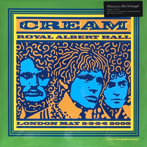 Viniluri VINIL Universal Records Cream - Royal Albert Hall - London - May 2-3-5-6 2005VINIL Universal Records Cream - Royal Albert Hall - London - May 2-3-5-6 2005