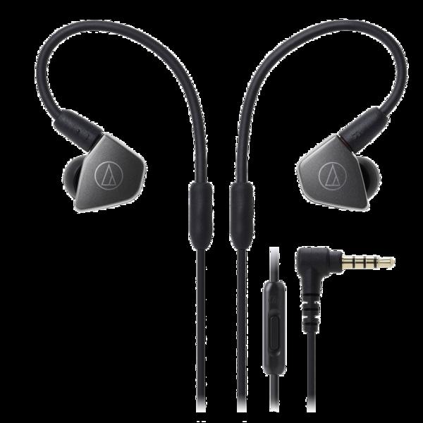 Casti  Casti in-ear cu microfon Audio-Technica ATH-LS70iS, seria LIVE SOUND Casti in-ear cu microfon Audio-Technica ATH-LS70iS, seria LIVE SOUND