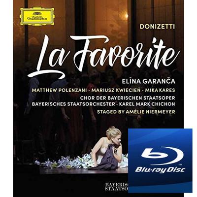 DVD & Bluray BLURAY Deutsche Grammophon (DG) Donizetti - La Favorite ( Garanca, Polenzani )BLURAY Deutsche Grammophon (DG) Donizetti - La Favorite ( Garanca, Polenzani )