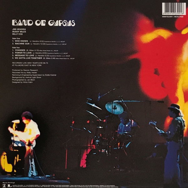 Viniluri VINIL Universal Records Hendrix, Jimi - Band Of GypsysVINIL Universal Records Hendrix, Jimi - Band Of Gypsys