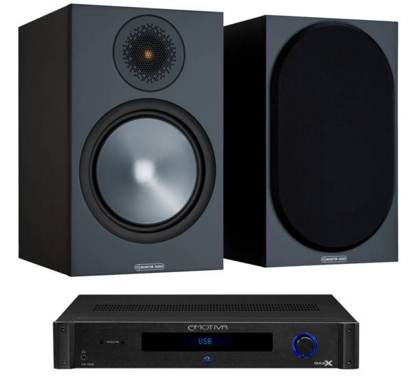 Pachete PROMO STEREO Pachet PROMO Monitor Audio Bronze 100 + Emotiva BasX TA-100Pachet PROMO Monitor Audio Bronze 100 + Emotiva BasX TA-100