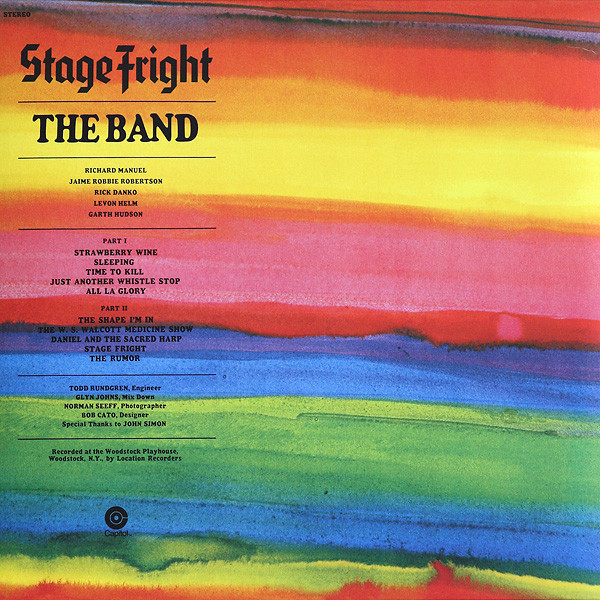 Viniluri VINIL Universal Records The Band - Stage FrightVINIL Universal Records The Band - Stage Fright