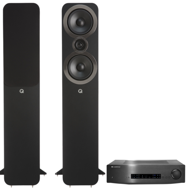 Pachete PROMO STEREO Pachet PROMO Q Acoustics 3050i + Cambridge Audio CXA60Pachet PROMO Q Acoustics 3050i + Cambridge Audio CXA60