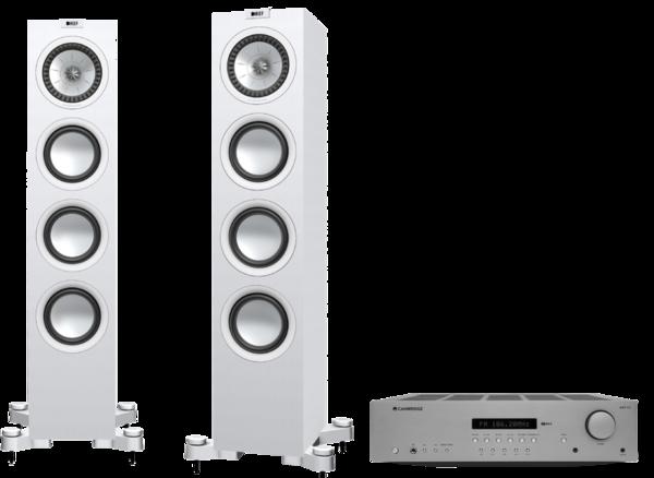 Pachete PROMO STEREO Pachet PROMO KEF Q550 + Cambridge Audio AXR100Pachet PROMO KEF Q550 + Cambridge Audio AXR100
