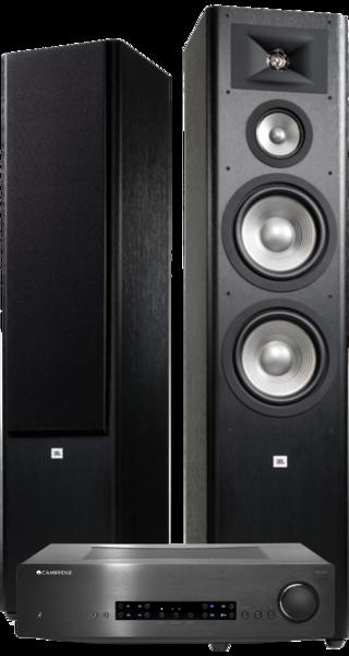 Pachete PROMO STEREO Pachet PROMO JBL Studio 290 + Cambridge Audio CXA80Pachet PROMO JBL Studio 290 + Cambridge Audio CXA80