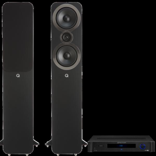Pachete PROMO STEREO Pachet PROMO Q Acoustics 3050i + Emotiva BasX TA-100Pachet PROMO Q Acoustics 3050i + Emotiva BasX TA-100