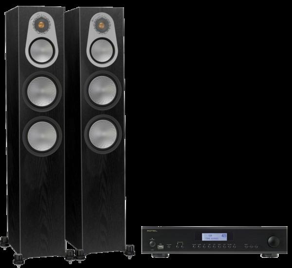 Pachete PROMO STEREO Pachet PROMO Monitor Audio Silver 300 + Rotel A-12Pachet PROMO Monitor Audio Silver 300 + Rotel A-12