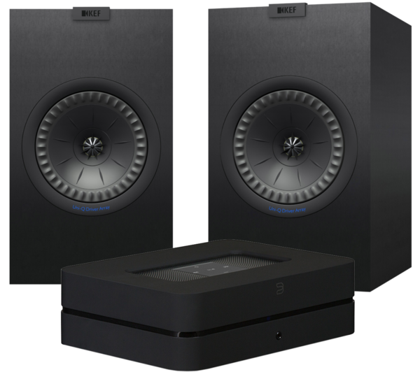 Pachete PROMO STEREO Pachet PROMO KEF Q350 + Bluesound Powernode 2iPachet PROMO KEF Q350 + Bluesound Powernode 2i