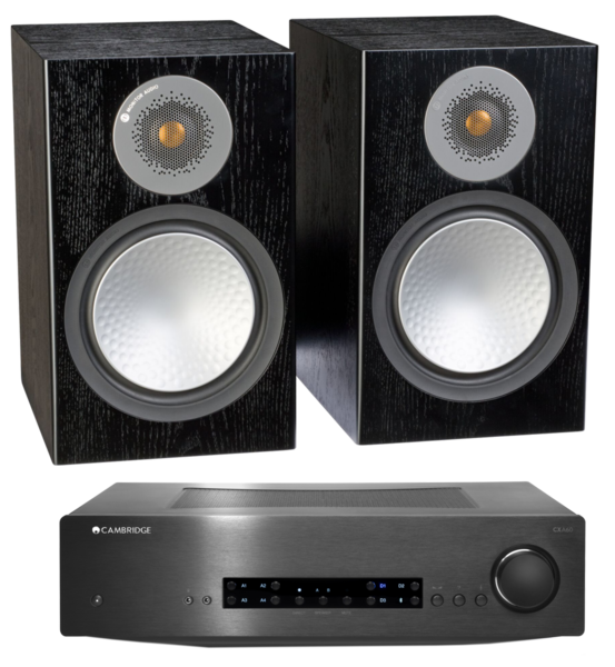 Pachete PROMO STEREO Pachet PROMO Monitor Audio Silver 100 + Cambridge Audio CXA60Pachet PROMO Monitor Audio Silver 100 + Cambridge Audio CXA60