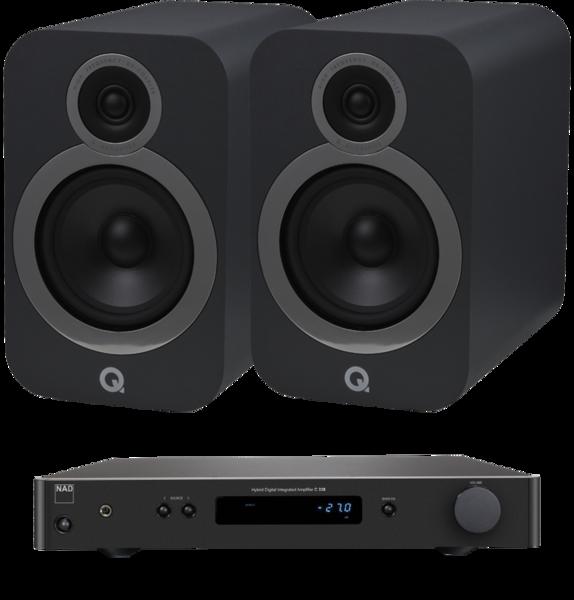 Pachete PROMO STEREO Pachet PROMO Q Acoustics 3030i + NAD C 338Pachet PROMO Q Acoustics 3030i + NAD C 338