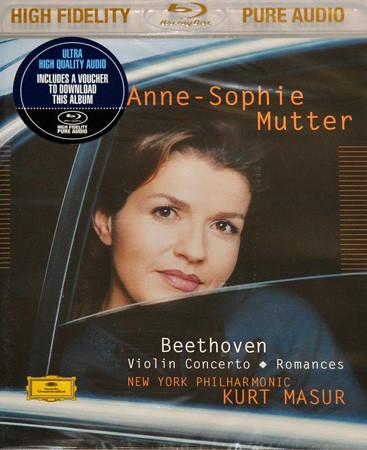 DVD & Bluray BLURAY Deutsche Grammophon (DG) Beethoven - Violin Concerto Op 61 ( Mutter, Masur ) BluRay AudioBLURAY Deutsche Grammophon (DG) Beethoven - Violin Concerto Op 61 ( Mutter, Masur ) BluRay Audio