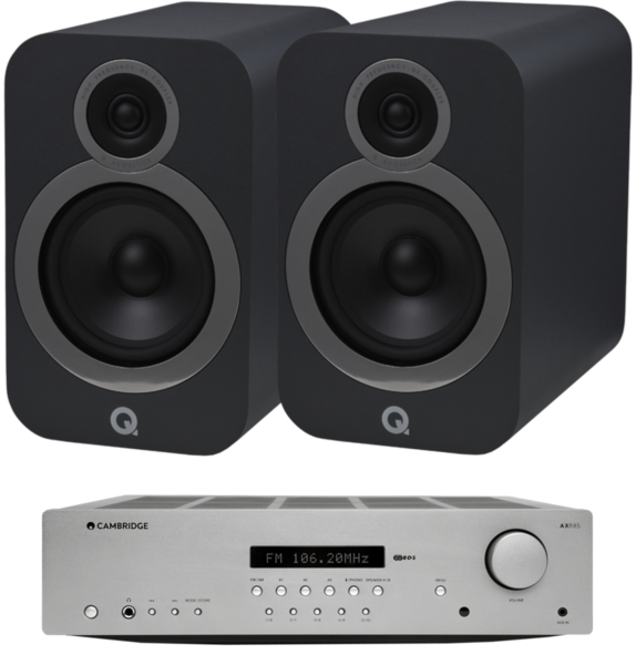 Pachete PROMO STEREO Pachet PROMO Q Acoustics 3030i + Cambridge Audio AXR85Pachet PROMO Q Acoustics 3030i + Cambridge Audio AXR85