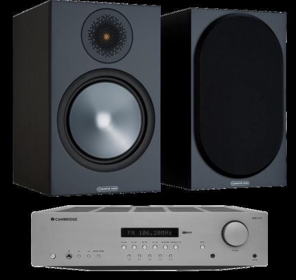 Pachete PROMO STEREO Pachet PROMO Monitor Audio Bronze 100 + Cambridge Audio AXR85Pachet PROMO Monitor Audio Bronze 100 + Cambridge Audio AXR85