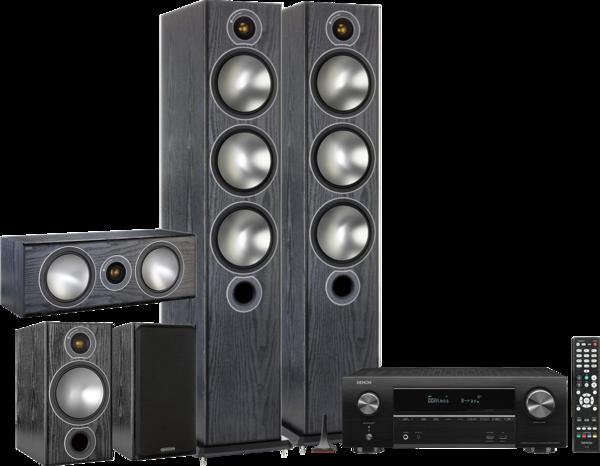 Pachete PROMO SURROUND Pachet PROMO Monitor Audio Bronze 6 5.0 + Denon AVR-X1600HPachet PROMO Monitor Audio Bronze 6 5.0 + Denon AVR-X1600H