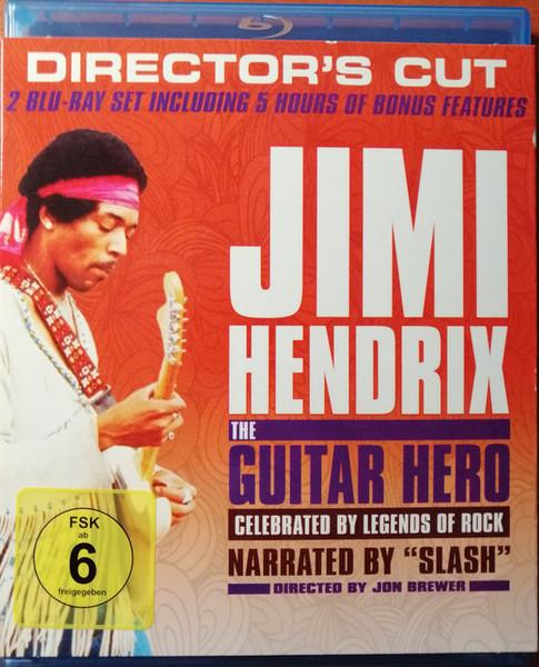 DVD & Bluray BLURAY Universal Records Jimi Hendrix - The Guitar Hero - Director's CutBLURAY Universal Records Jimi Hendrix - The Guitar Hero - Director's Cut