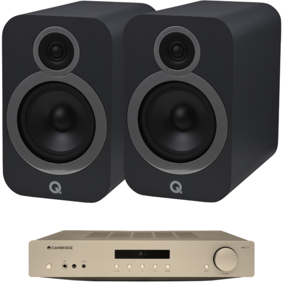 Pachete PROMO STEREO Pachet PROMO Q Acoustics 3030i + Cambridge Audio AXA35Pachet PROMO Q Acoustics 3030i + Cambridge Audio AXA35