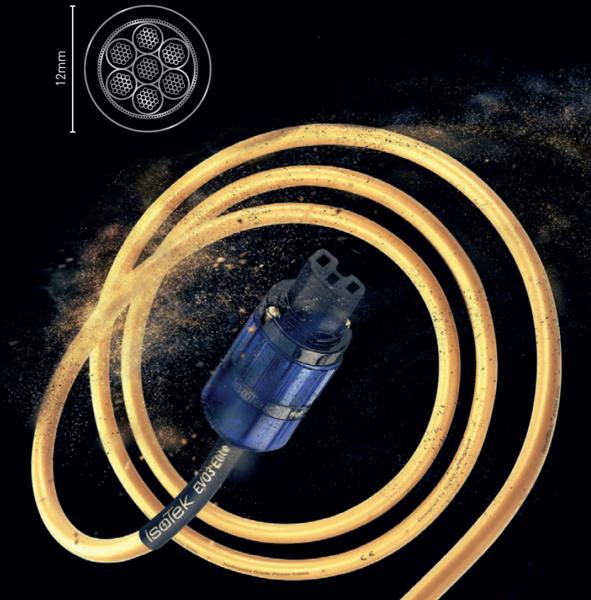 Cabluri audio Cablu Isotek EVO3 Elite, 2mCablu Isotek EVO3 Elite, 2m