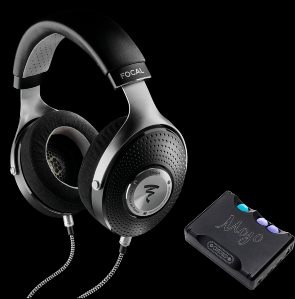 Pachete PROMO Casti si AMP Pachet PROMO Focal Elegia + Chord Electronics MojoPachet PROMO Focal Elegia + Chord Electronics Mojo