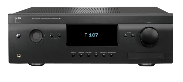 Preamplificatoare NAD T 187 Surround Sound Preamp ProcessorNAD T 187 Surround Sound Preamp Processor