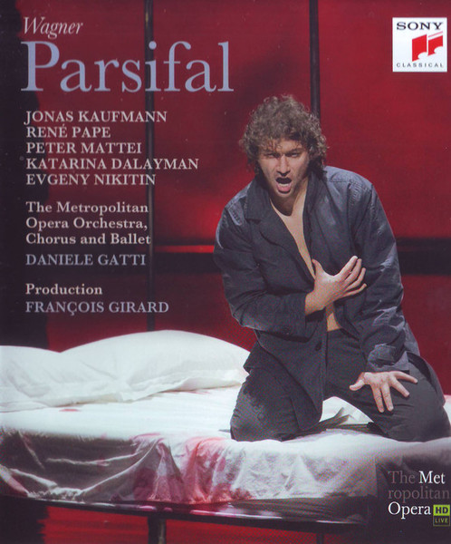 DVD & Bluray BLURAY Universal Records Wagner - Parsifal ( Kaufmann, Gatti, MET )BLURAY Universal Records Wagner - Parsifal ( Kaufmann, Gatti, MET )