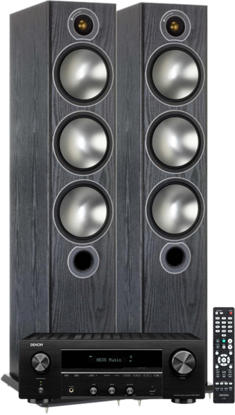 Pachete PROMO STEREO Pachet PROMO Monitor Audio Bronze 6 + Denon DRA-800HPachet PROMO Monitor Audio Bronze 6 + Denon DRA-800H