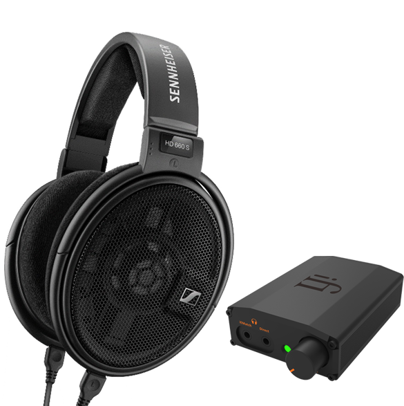 Pachete PROMO Casti si AMP Pachet PROMO Sennheiser HD 660 + iFi Audio Nano iDSD BlackPachet PROMO Sennheiser HD 660 + iFi Audio Nano iDSD Black