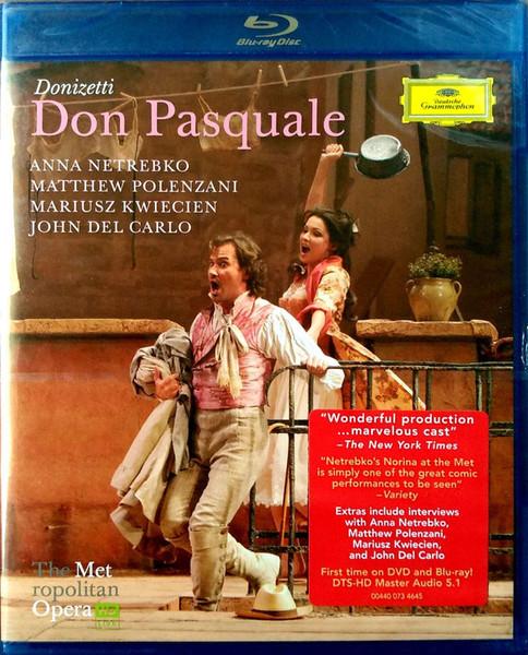 DVD & Bluray BLURAY Deutsche Grammophon (DG) Donizetti - Don Pasquale ( Netrebko, Levine, MET )BLURAY Deutsche Grammophon (DG) Donizetti - Don Pasquale ( Netrebko, Levine, MET )