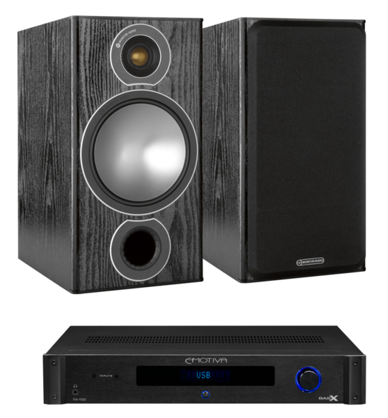 Pachete PROMO STEREO Pachet PROMO Monitor Audio Bronze 2 + Emotiva BasX TA-100Pachet PROMO Monitor Audio Bronze 2 + Emotiva BasX TA-100