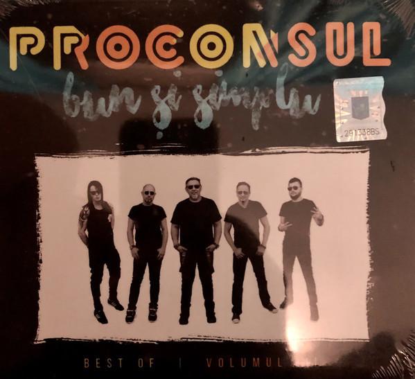 Muzica CD CD Universal Music Romania Proconsul - Best Of / Volumul II / Bun si simpluCD Universal Music Romania Proconsul - Best Of / Volumul II / Bun si simplu