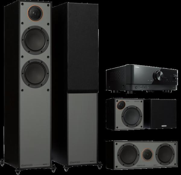 Pachete PROMO SURROUND Pachet PROMO Monitor Audio Monitor 200 Black Cone pachet 5.0 + Yamaha RX-V4APachet PROMO Monitor Audio Monitor 200 Black Cone pachet 5.0 + Yamaha RX-V4A