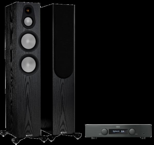 Pachete PROMO STEREO Pachet PROMO Monitor Audio Silver 300 (7G) + Hegel H95Pachet PROMO Monitor Audio Silver 300 (7G) + Hegel H95