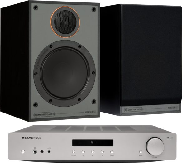 Pachete PROMO STEREO Pachet PROMO Monitor Audio Monitor 100 Black Cone + Cambridge Audio AXA35Pachet PROMO Monitor Audio Monitor 100 Black Cone + Cambridge Audio AXA35