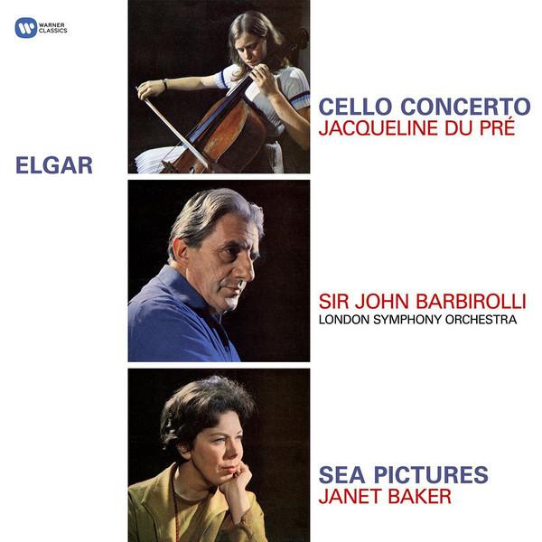 Viniluri VINIL WARNER BROTHERS Elgar - Cello Concerto / Sea Pictures ( Jacqueline Du Pre, Barbirolli, LSO / Janet Baker )VINIL WARNER BROTHERS Elgar - Cello Concerto / Sea Pictures ( Jacqueline Du Pre, Barbirolli, LSO / Janet Baker )